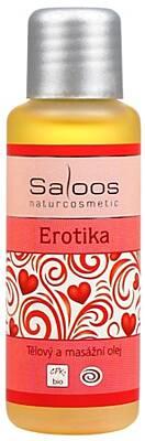 Saloos tělový a masážní olej Erotika 125 ml