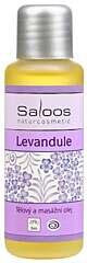 Saloos tělový a masážní olej Levandule 500 ml