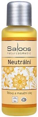 Saloos tělový a masážní olej Neutrální 250 ml