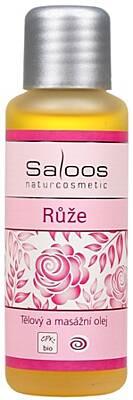 Saloos tělový a masážní olej Růže 500 ml