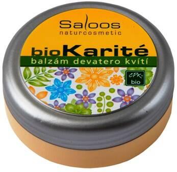 Saloos bio karité balzám Devatero kvítí 250 ml