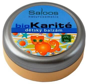Saloos bio karité Dětský balzám 19 ml
