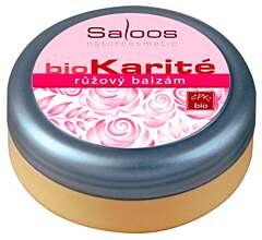 Saloos bio karité Růžový balzám 250 ml