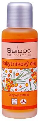 Saloos bio olejový extrakt Rakytníkový olej 50 ml
