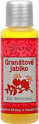Saloos bio wellness exkluzivní tělový a masážní olej Granátové jablko 50 ml