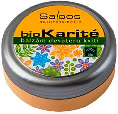 Saloos bio karité balzám Devatero kvítí 50 ml