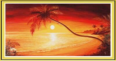 Záliv s palmou