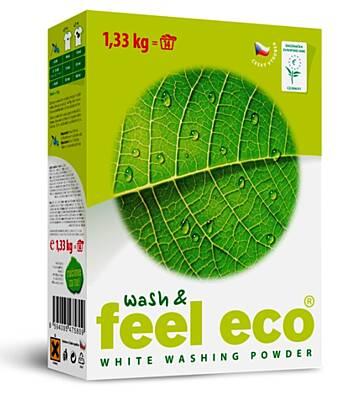 Feel Eco prací prášek na bílé prádlo 1,33 kg