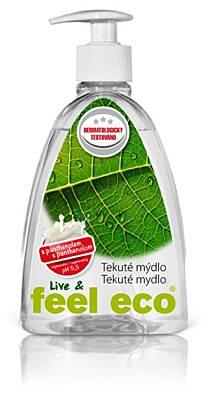 Feel Eco tekuté mýdlo s panthenolem 500 ml