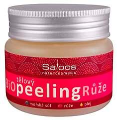 Saloos bio tělový peeling Růže 140 ml