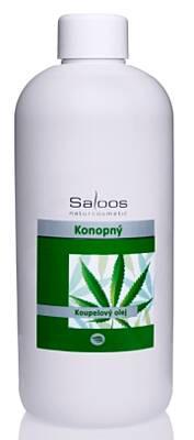 Saloos koupelový olej Konopný 1 000 ml