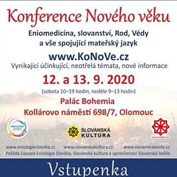 Konference Nového věku - změna termínu
