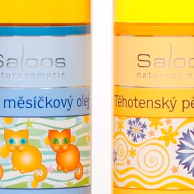 Kompletní sortiment kosmetiky Saloos