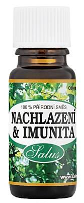 Saloos esenciální olej NACHLAZENÍ & IMUNITA pro aromaterapii 10 ml