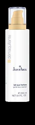 JEAN D´ARCEL Odlíčení, Lait aux Herbes – Odličovací mléko na suchou a kuperózní pleť, 250 ml