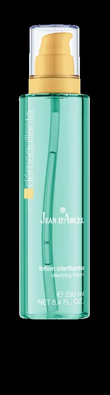 JEAN D´ARCEL Odlíčení, Lotion Clarifiante – Pleťová voda na mastnou, zánětlivou a na tuky citlivou pleť, 250 ml