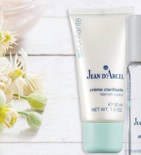 JEAN D´ARCEL Purifiante, Créme clarifiante – Lokální péče pro nečistou, na tuky citlivou pleť, 30 ml