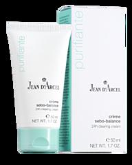 JEAN D´ARCEL Purifiante, Créme sebo-balance – Intenzivní péče na aknózní a tuky citlivou pleť, 50 ml