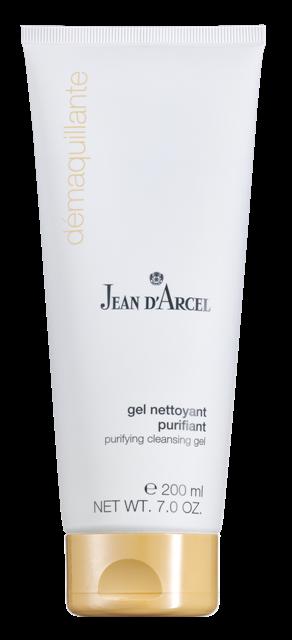 JEAN D´ARCEL Purifiante, Gel nettoyant purifiant – Čistící gel na mastnou, problematickou pleť, 200 ml