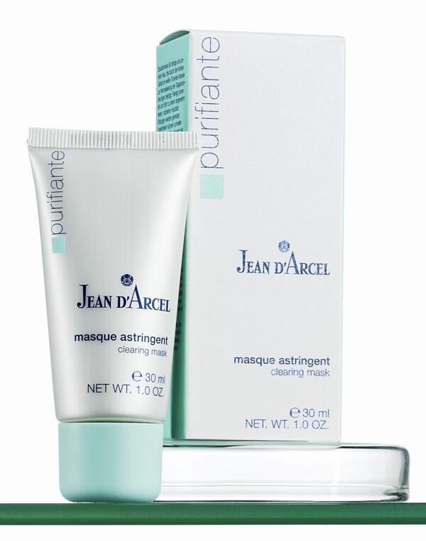 JEAN D´ARCEL Purifiante, Masque astringent – Jílová maska s chladivým efektem, 30 ml