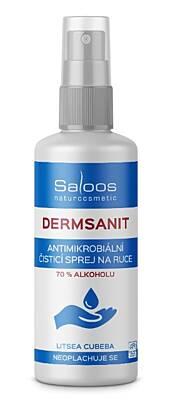 Saloos Dermsanit 100 ml – přírodní bezoplachový čisticí sprej na ruce