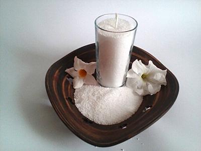Svíčka s vůni Aloe Vera