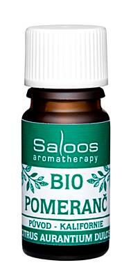 Saloos bio esenciální olej POMERANČ pro aromaterapii 5ml